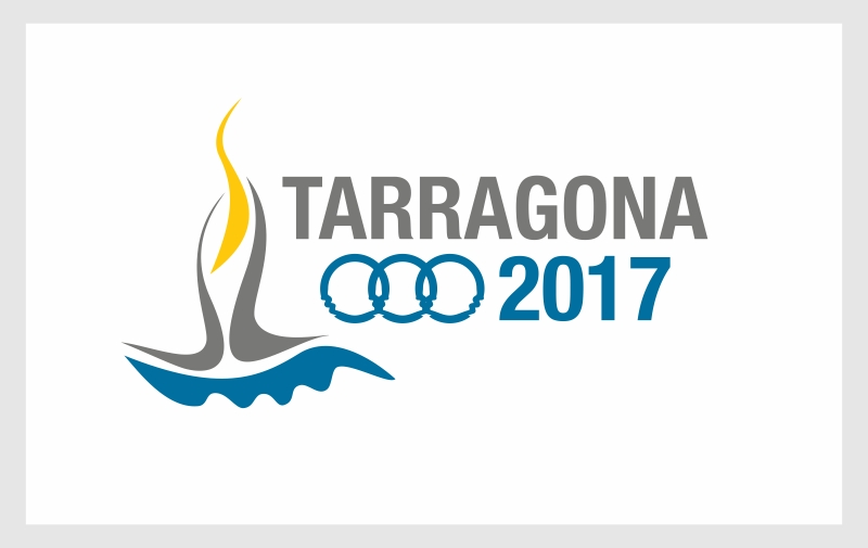 Logotipo Tarragona 2018 creado por Kico F. Uribe de Evolutt Studio
