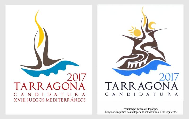 Logotipo Tarragona 2017 creado por Kico F. Uribe de Evolutt Studio